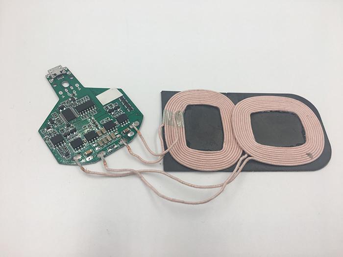 双线圈无线充电器pcba